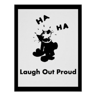 Laugh Out Proud Poster