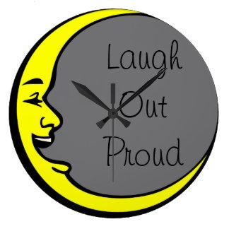 Laugh Out Proud Wallclock