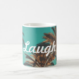 Laugh Palm Tree Coffee Mug