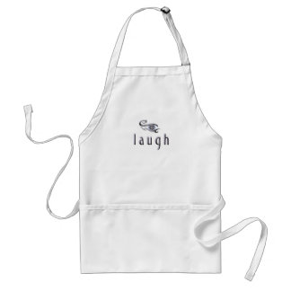 laugh standard apron