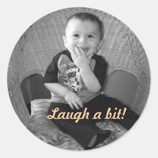 Laugh Sticker