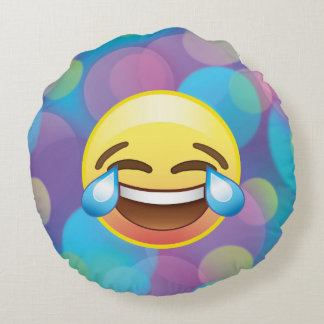 Laugh till you Cry Tears of Happiness Emoji Pillow