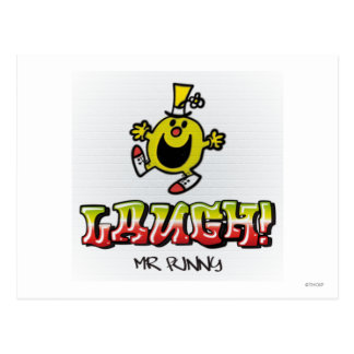 Laugh With Mr. Funny Postcard