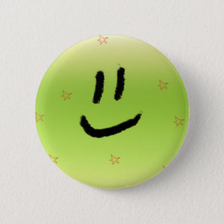 Laughing 2 Inch Round Button