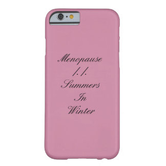 Laughing at myself barely there iPhone 6 case