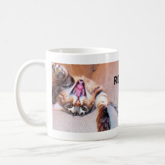 Laughing Bengal Cat Mug