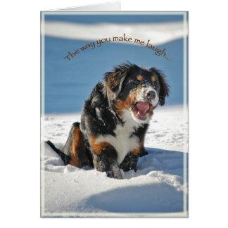 Laughing Berner Card