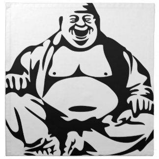 Laughing Bhuddha Napkin