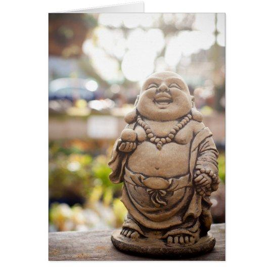 Laughing Buddha Card