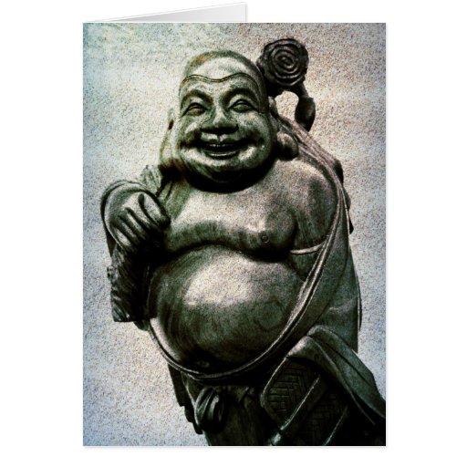 Laughing Buddha Happiness & Abundance Card