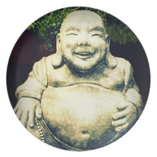 Laughing Buddha Plate