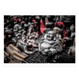 Laughing Buddha Postcard