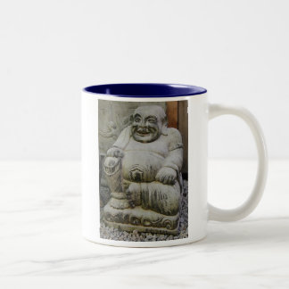 Laughing Buddha Two-Tone Coffee Mug