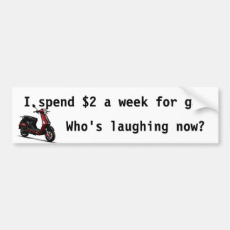 Laughing Bumper Bumper Sticker