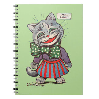 Laughing Cat, Louis Wain Notebook