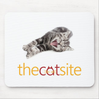 Laughing Cat Mouse Pad