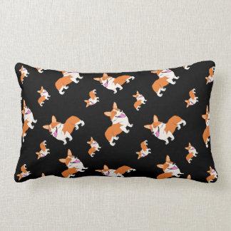 Laughing Corgis Lumbar Pillow