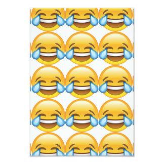 Laughing Crying Tears of Joy emoji Card