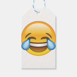 Laughing Crying Tears of Joy emoji Pack Of Gift Tags