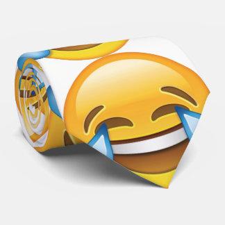 Laughing Crying Tears of Joy emoji Tie