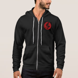 Laughing Devil Zip Up Hoodie