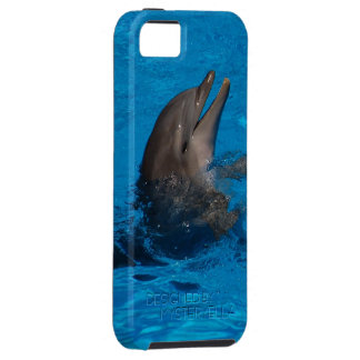 """laughing dolphin"" by mysteryella iPhone 5 covers"