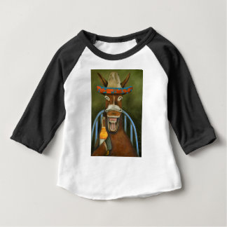 Laughing Donkey Baby T-Shirt