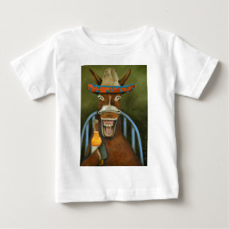 Laughing Donkey Baby T-Shirt