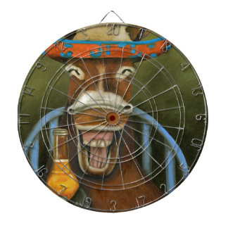 Laughing Donkey Dartboard