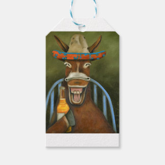 Laughing Donkey Gift Tags
