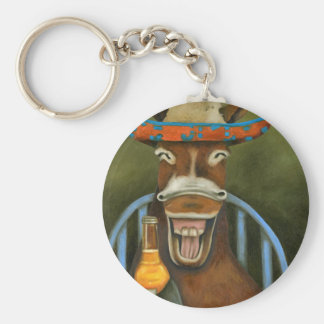 Laughing Donkey Keychain