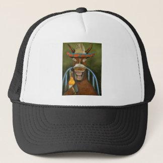 Laughing Donkey Trucker Hat