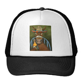 Laughing Donkey Trucker Hat