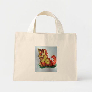 Laughing dragon mini tote bag