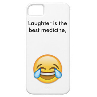 Laughing emoji iPhone 5 cover