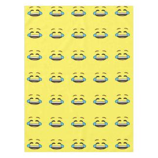 Laughing Emoji Tablecloth