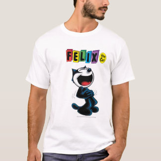 Laughing Felix the Cat T-Shirt