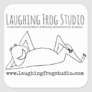 Laughing Frog Studio Logo Stickers