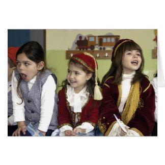 Laughing Girls Card