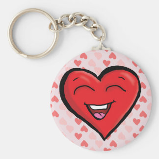 Laughing Heart Key Chain