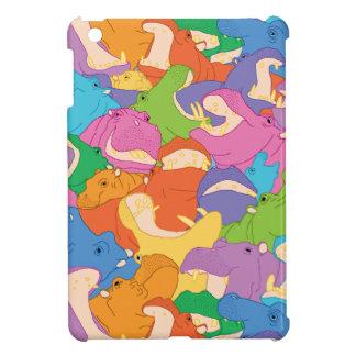 Laughing Hippos iPad mini case