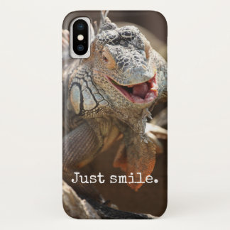 Laughing Iguana Gifts iPhone X Case