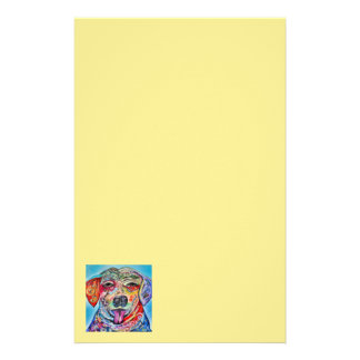 Laughing  Labrador Stationery