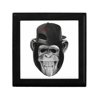 Laughing Monkey Jewelry Box