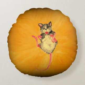 Laughing Mouse Pillow