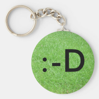 Laughing Out Loud Basic Round Button Keychain