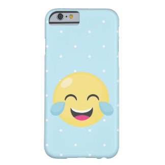 Laughing Out Loud Emoji Dots Barely There iPhone 6 Case