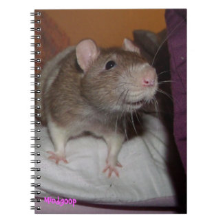 laughing rat spiral notebook