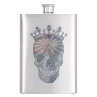 Laughing Skull Crown Anchor Bees High Voltage Flasks