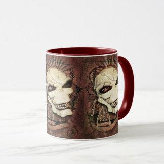 Laughing Skull Gothic Fantasy Art Mug
